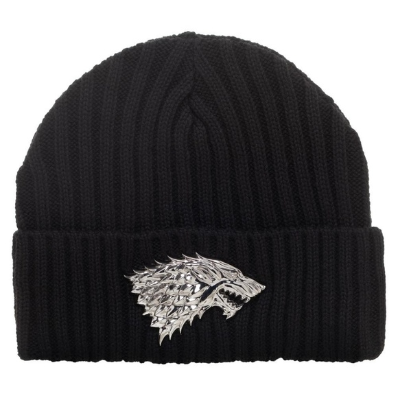 c8254a90d065e House Stark Dire Wolf Game of Thrones Beanie Hat